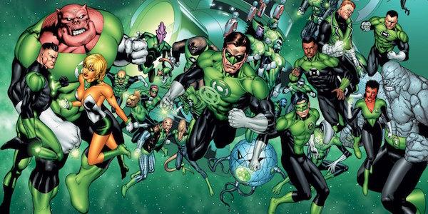 Gren Lantern Corps