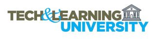 Tech & Learning University Logo