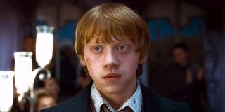 Rupert Grint as Ron Weasley in Harry Potter and the Deathly Hallows