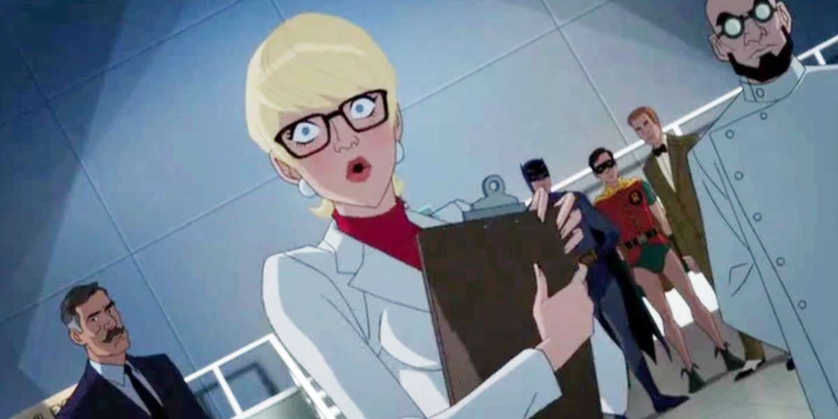 Sirena Irwin as Dr. Harleen Quinzel in Batman vs. Two-Face
