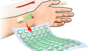 The stretchable OLED panel from Samsung