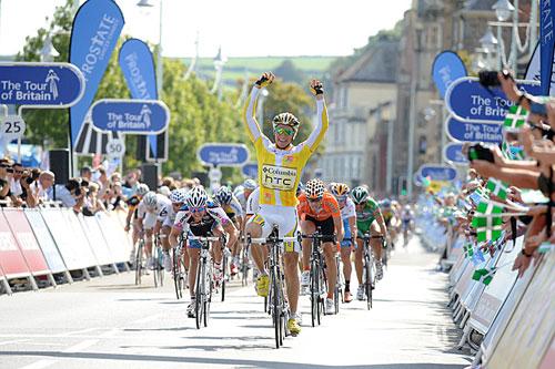 Edvald Boasson Hagen, Tour of Britain 2009, stage six