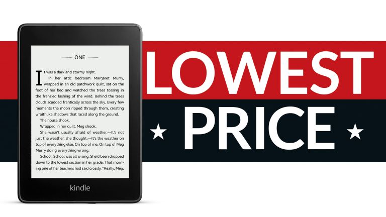 Amazon Kindle Paperwhite Prime Day deal lowest ever price