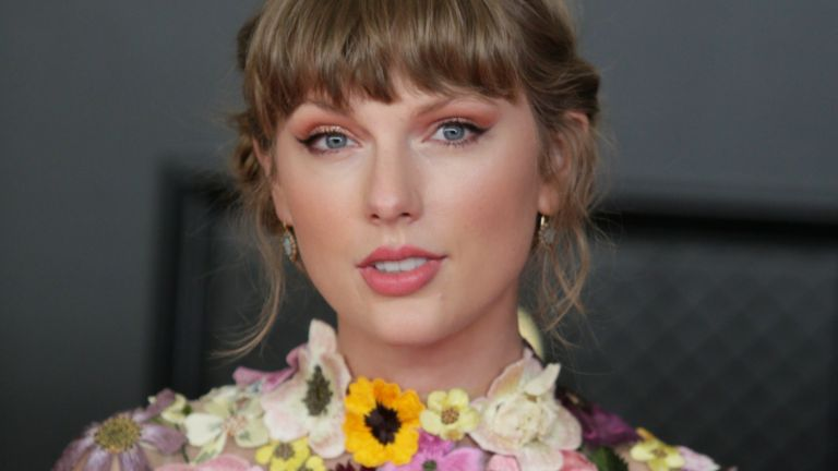 Taylor Swift at THE 63rd ANNUAL GRAMMY® AWARDS, broadcast live from the STAPLES Center in Los Angeles, Sunday, March 14, 2021