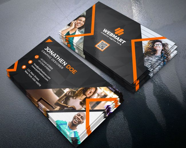 Free business card templates: Business cards bundle
