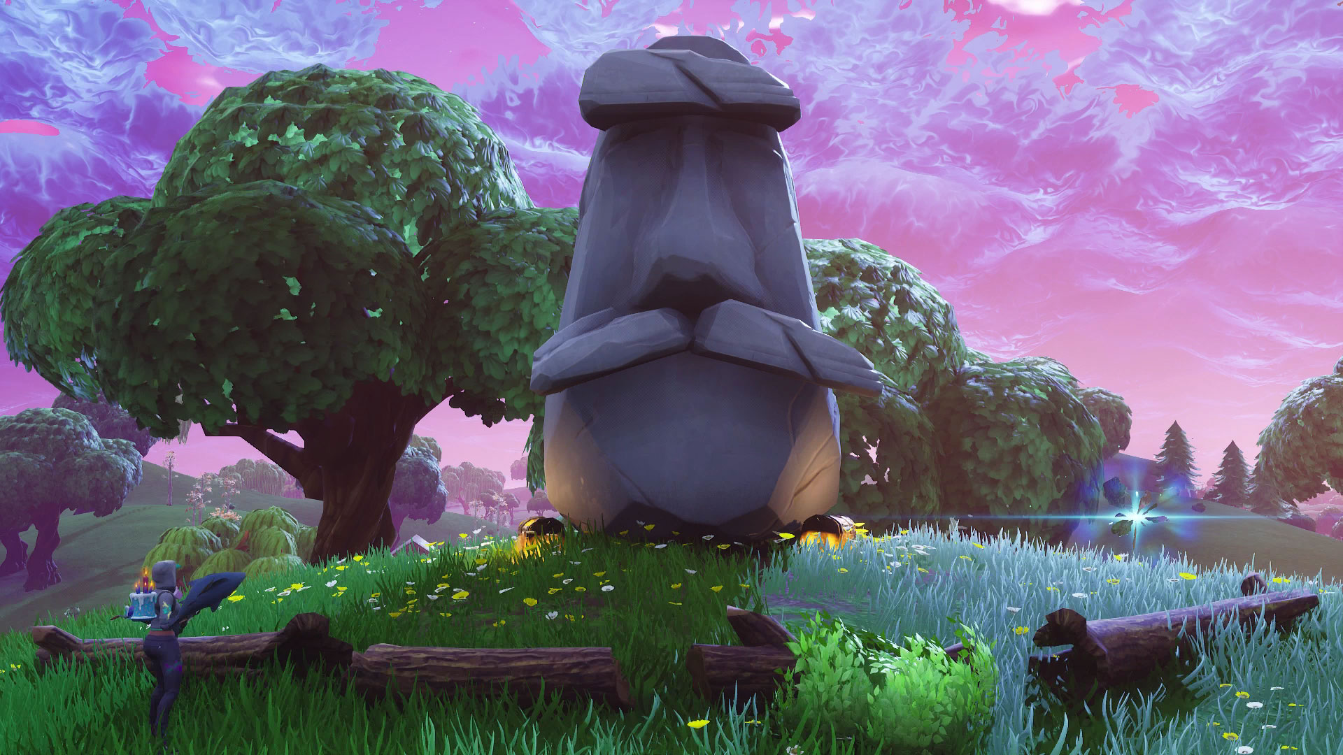 fortnite stone heads locations search where the stone heads are looking and visit different stone heads gamesradar - where is the metal turtle in fortnite map