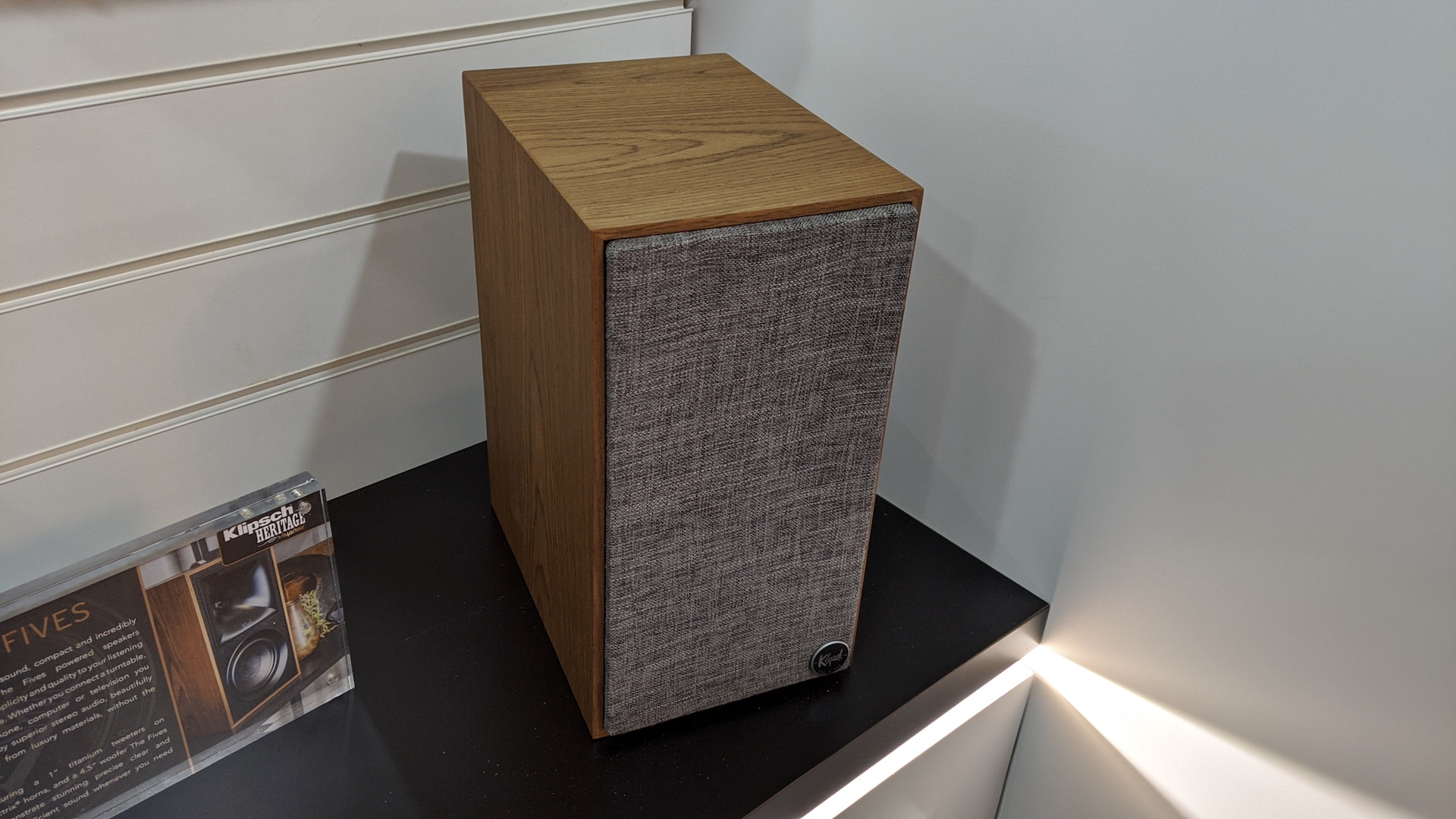 First Look: Klipsch The Fives are slick bookshelf speaker alternatives to a soundbar