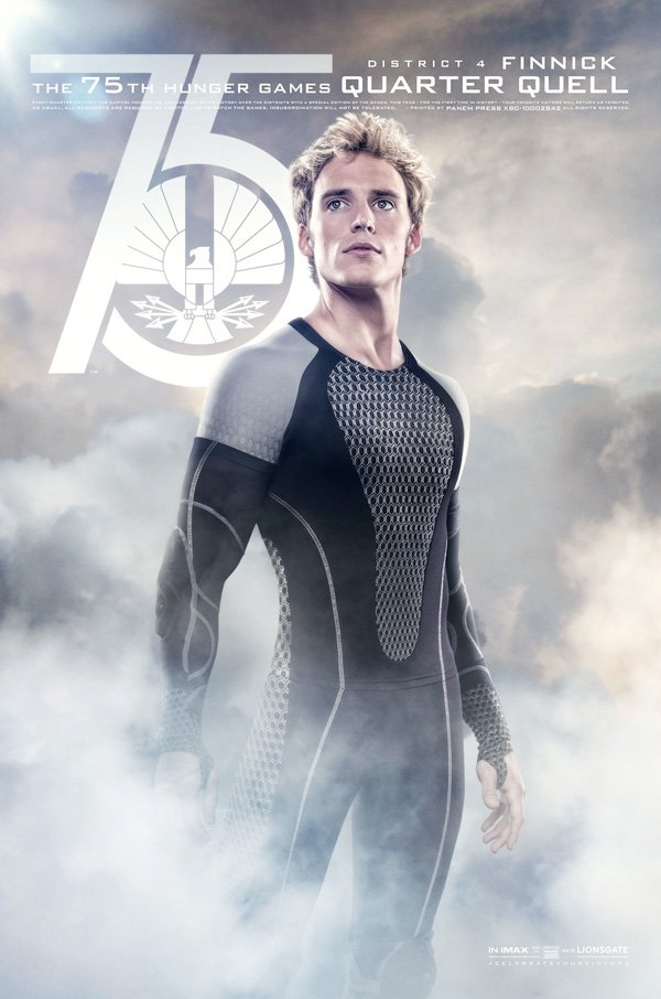 The Hunger Games Catching Fire Finnick Tribute