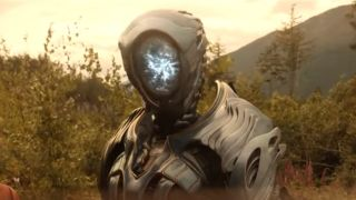 The Robot from Netflix's Lost in Space.