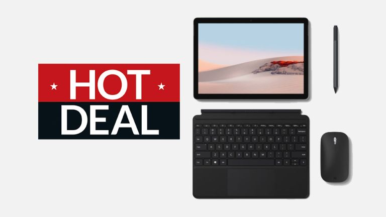Microsoft Surface Go 2 bundle back to school deal