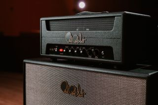 PRS HX amp close up