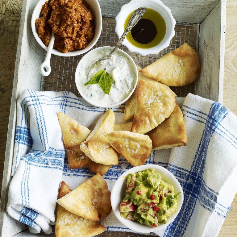 Crispy Pitta Chips recipe-Pitta recipes-recipe ideas-new recipes-woman and home