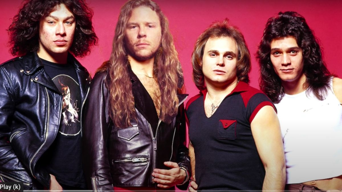 This Metallica vs Van Halen mash-up is the sound of two monsters of rock crushing every other band underfoot