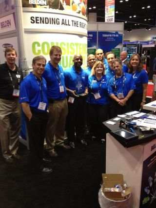 Herman Selects Belden as Vendor of Year at InfoComm 2013