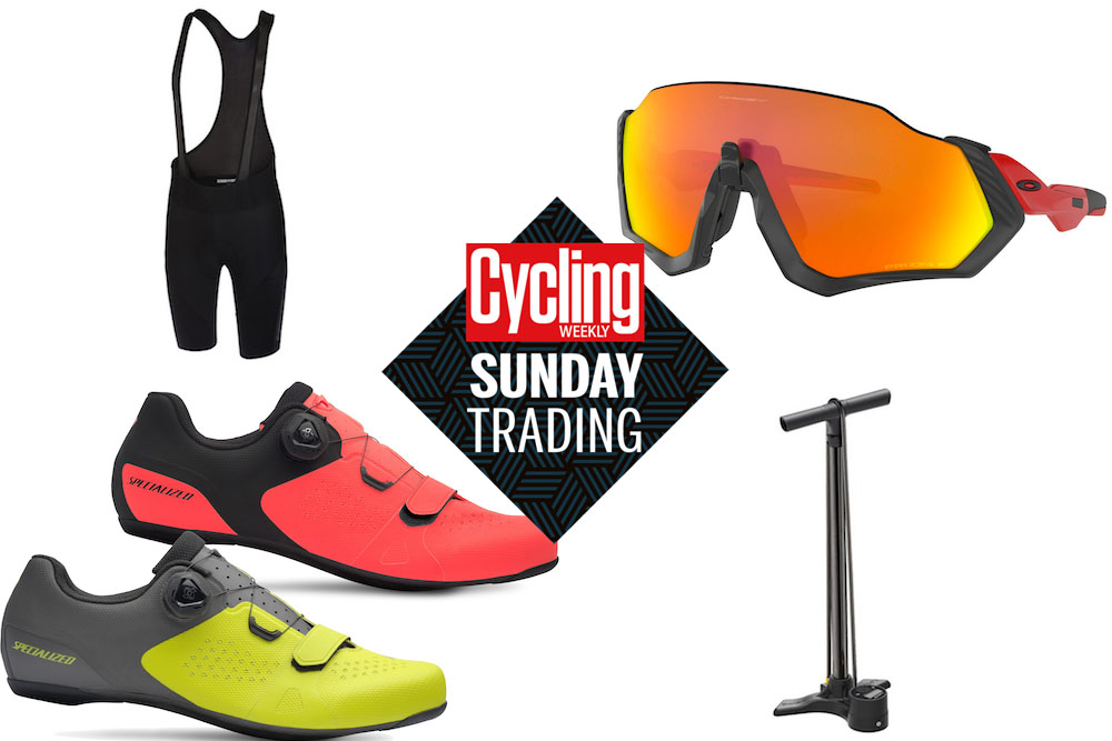 Sunday Trading: deals on Oakleys, Specialized shoes and Castelli shorts