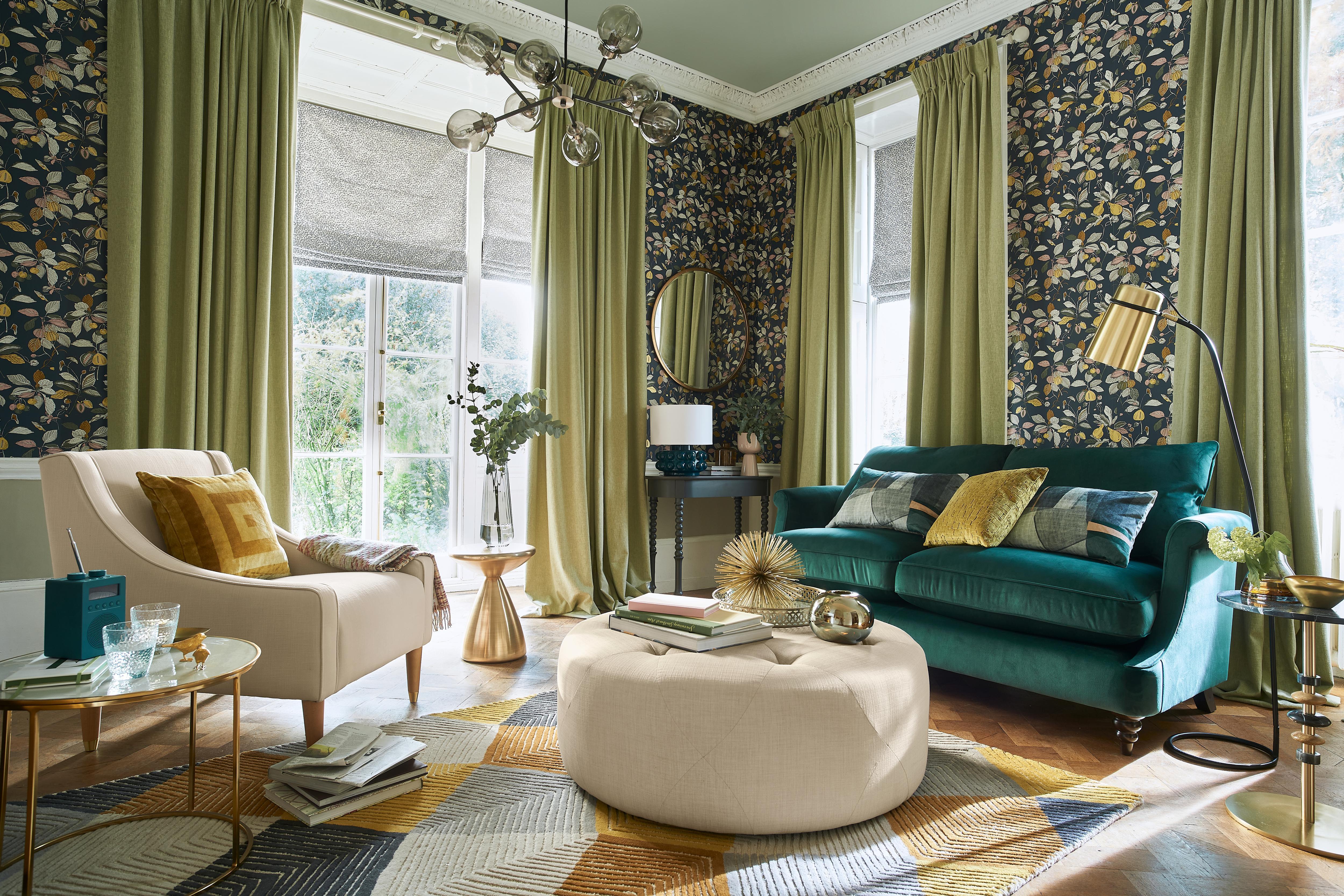 25 Living Room Curtain Ideas For An, Curtain Idea For Living Room