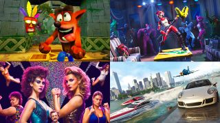 Crash Bandicoot, Fortnite, GLOW 2, The Crew 2