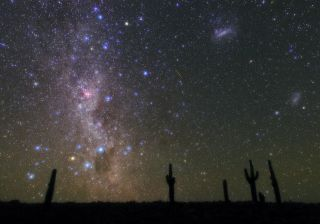 Astrophotographer Babak Tafreshi captured this image of the stars over the Atacama Desert on Aug. 25, 2020.