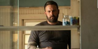 Jack Cunningham (Ben Affleck) looks forlorn as he stands inside his house in 'The Way Back'