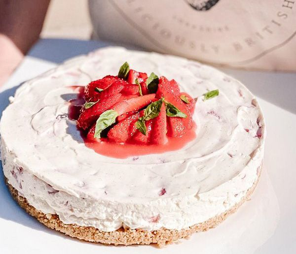 Annabel's strawberry cheesecake recipe