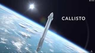 Callisto subscale flyback booster