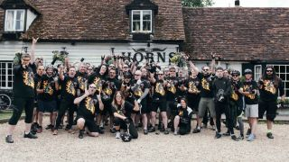 Heavy Metal Truants charity bike ride to Download festival Donington