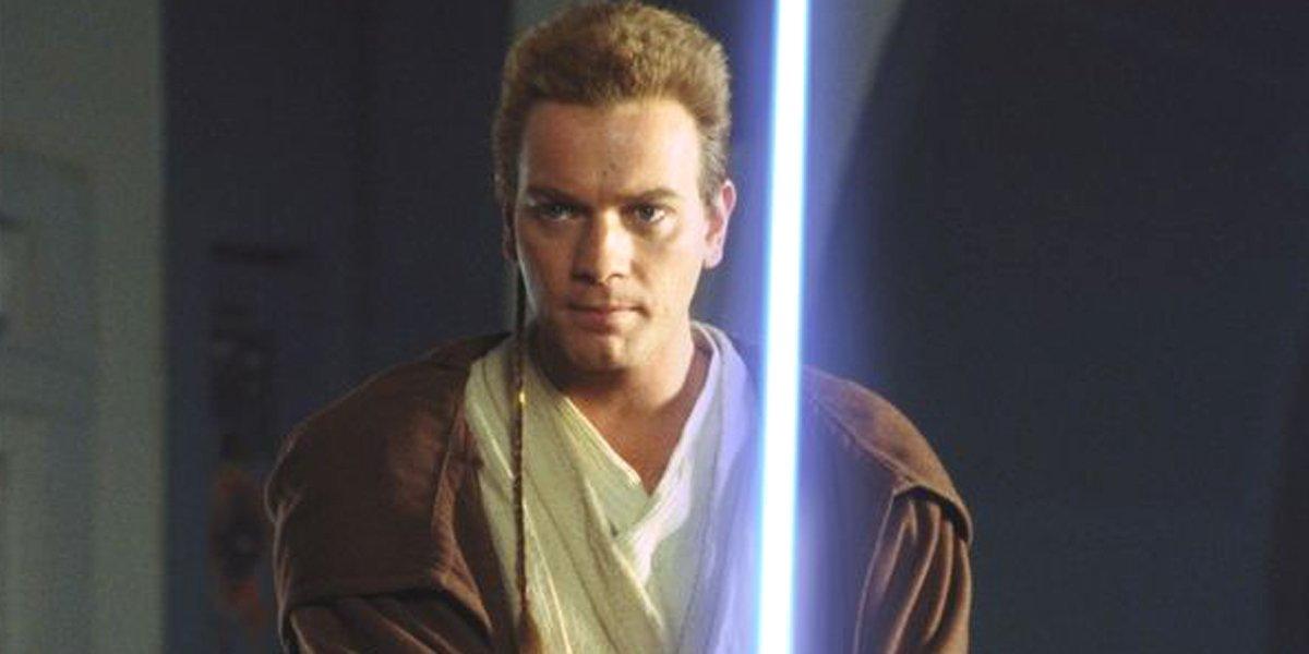 Ewan McGregor as Obi-Wan Kenobi Star Wars: The Phantom Menace Lucasfilm