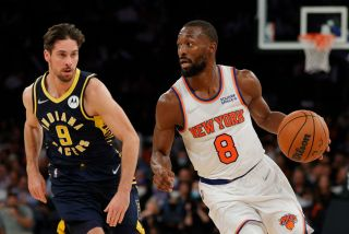 New York Knicks vs. Indiana Pacers on Oct. 5, 2021