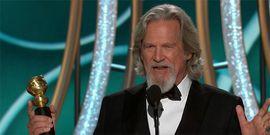 Jeff Bridges Followed Up His Wild Golden Globes Speech With The Perfect Tweet