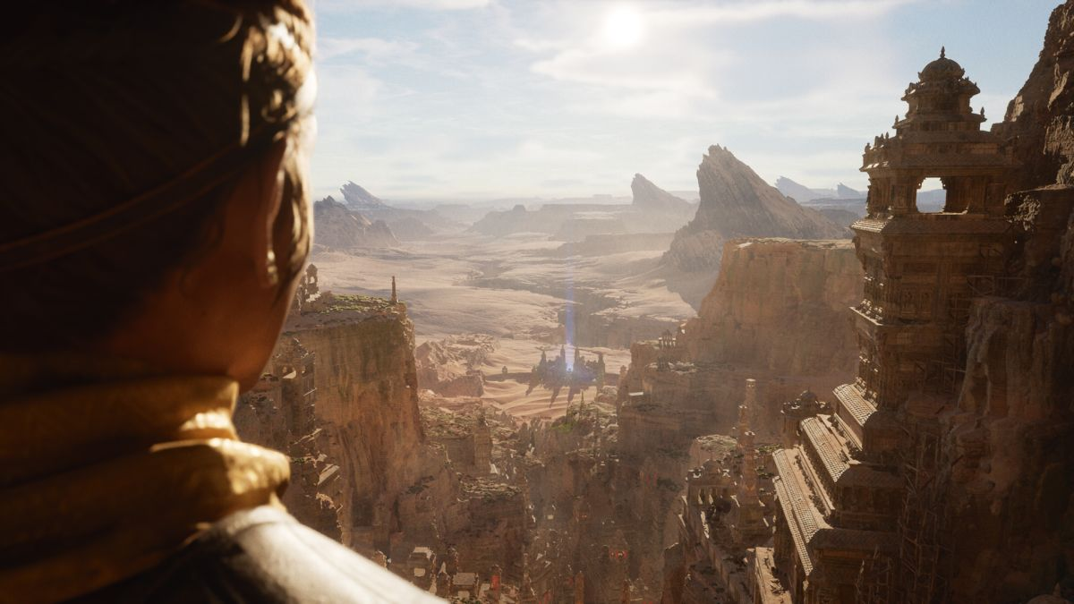 """Unreal Engine 5 can make games look """"another console generation click ahead"""" according to Epic"""