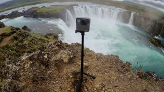 GoPro Fusion is a waterproof 360-degree camera that goes