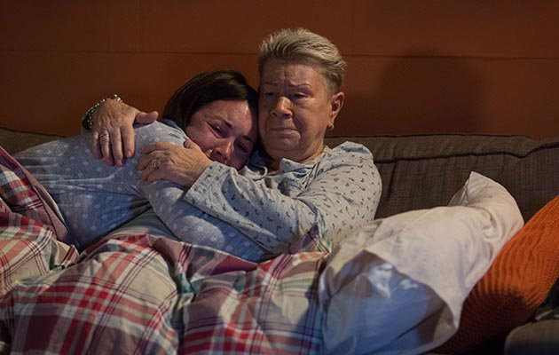Mo Harris returns to Albert Square with some shocking news in EastEnders
