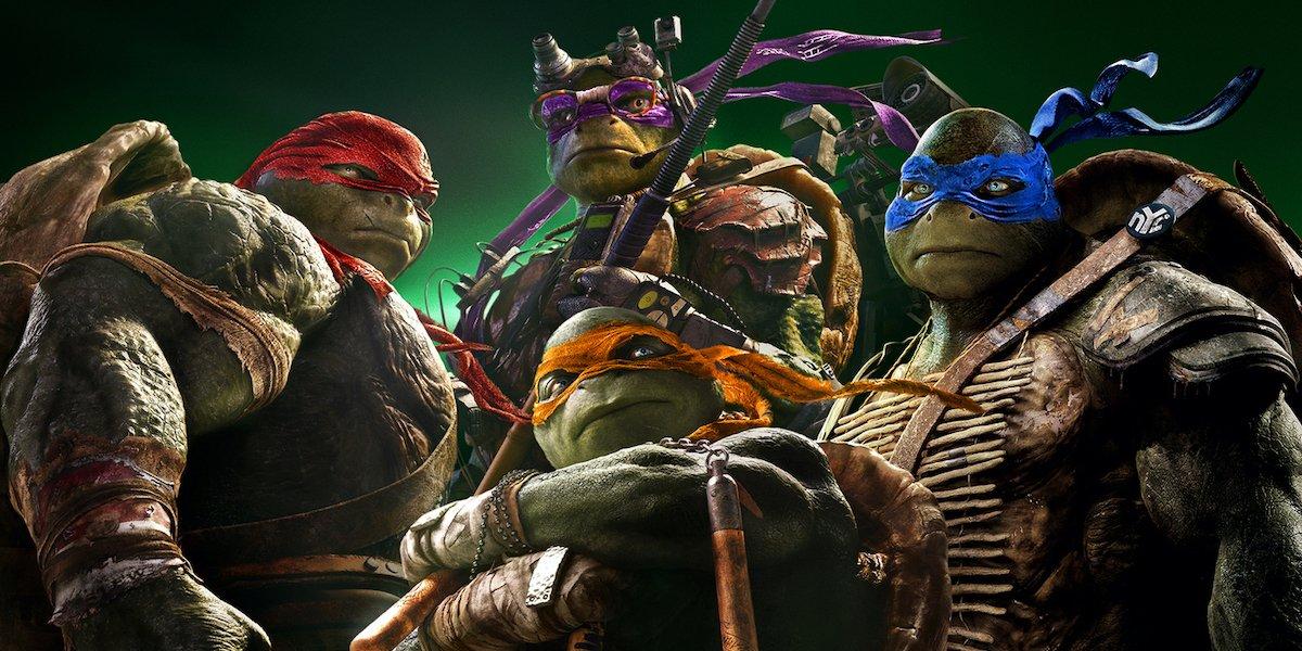 Teenage Mutant Ninja Turtles 2014 movie
