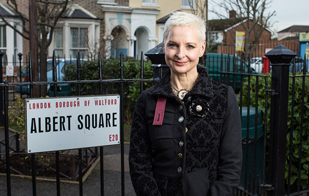 EastEnders' Mary the punk star on 'overwhelming' return to the soap