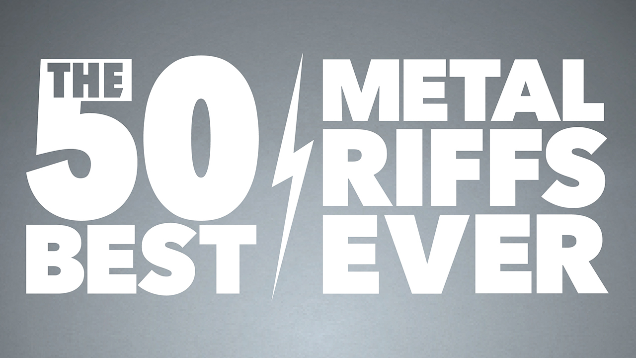 The 50 Best Metal Riffs Ever Louder
