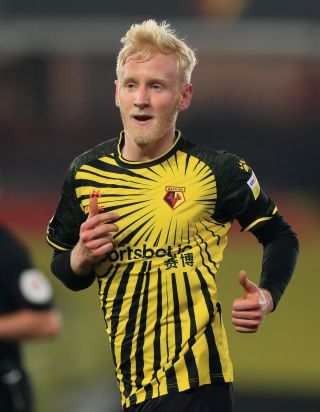 Watford's Will Hughes looks set to sign for Crystal Palace.