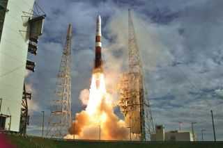 New Weather Satellite Rides Delta 4 Rocket to Orbit