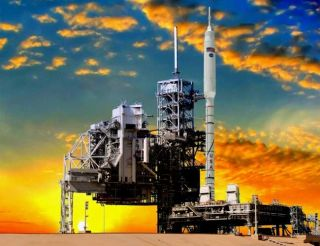 Big Test Looms for NASA's New Rocket