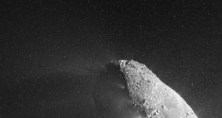Comet Pelted NASA Probe with Bits of Ice During Flyby