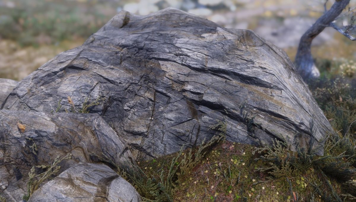 A modder got drunk on rum and then made these surprisingly beautiful Skyrim rock textures