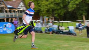 Pro Plays 36 Holes In Under 80 Minutes To Win British Speedgolf Championship