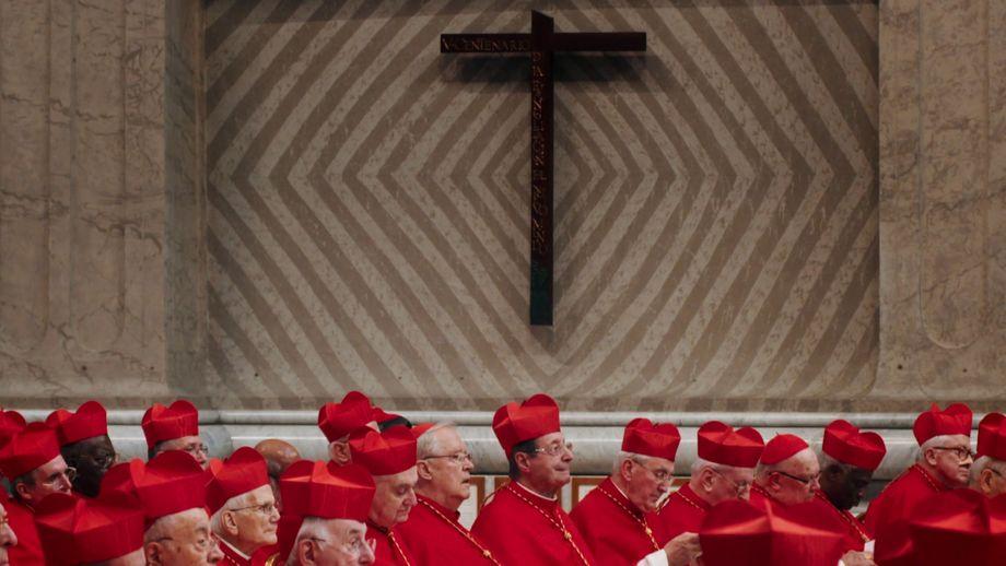 Cardinals Inside the Vatican