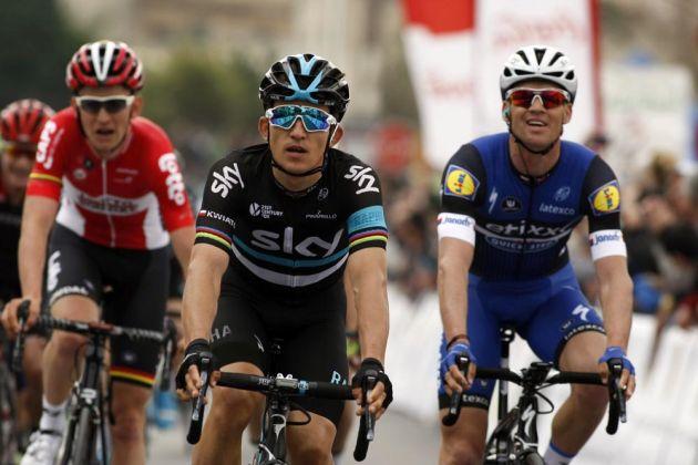 Michal Kwiatkowski finishes second on Day 2 of the 2016 Challanege Mallorca