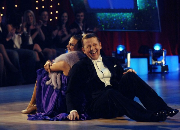 Bill Turnbull and Karen Hardy on Strictly Come Dancing