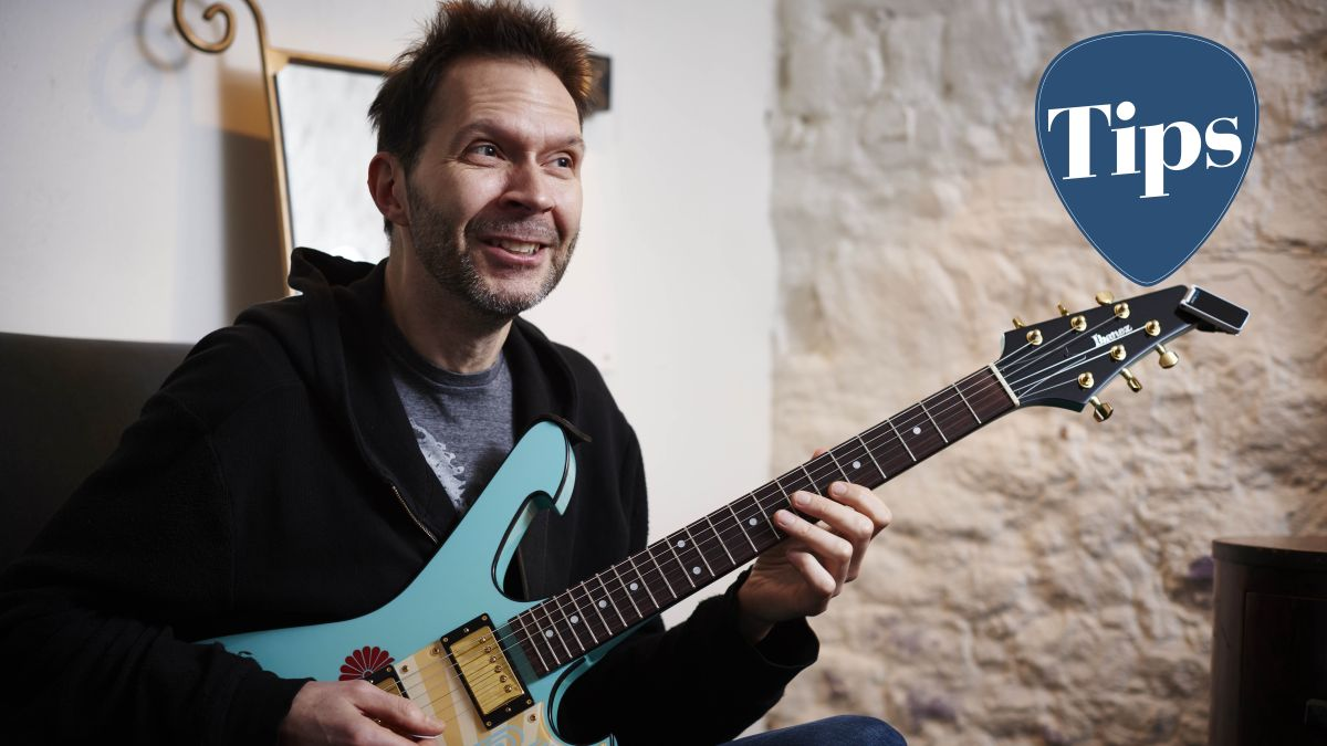 Take Paul Gilbert's lead and develop the most important guitar skill of all with this quick exercise