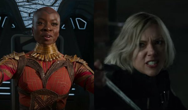 okoye black widow avengers infinity war