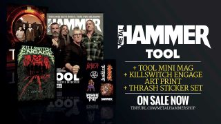 Tool on the cover of Metal Hammer