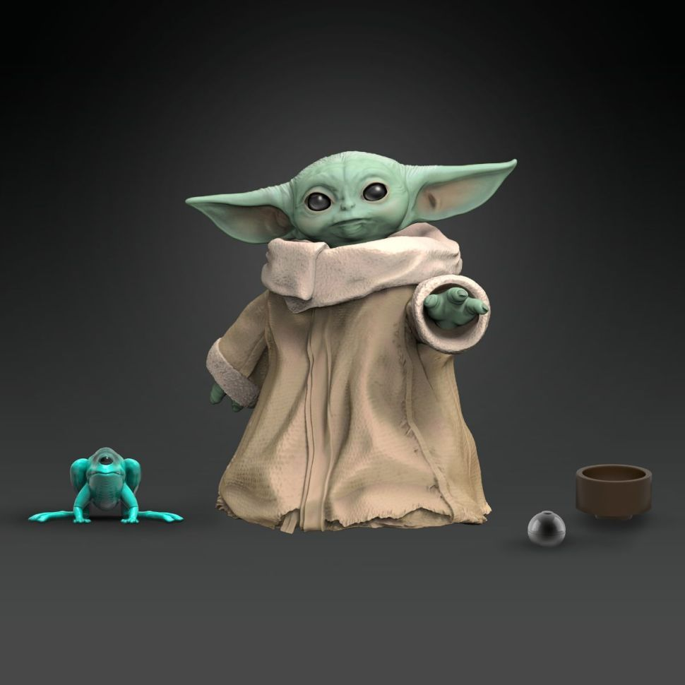 Hasbro's Baby Yoda Toys Coming in 2020 Are Just Adorable