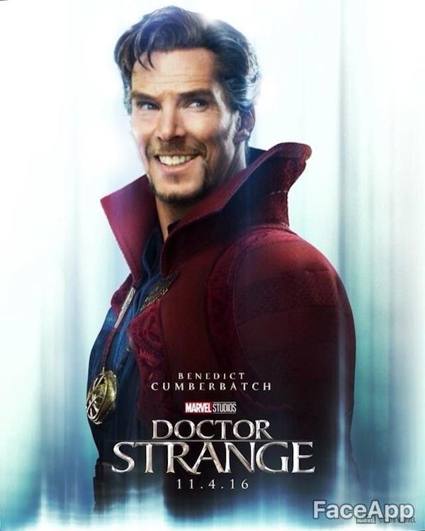 Doctor Strange FaceApp