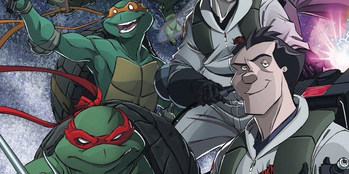Ninja Turtles and Ghostbusters